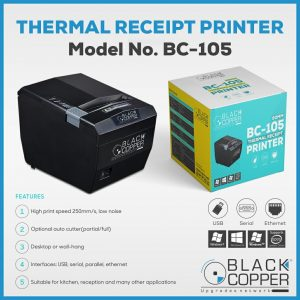 BC-105 80mm Thermal Receipt Printer
