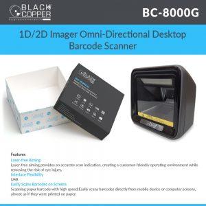 BC-8000G Desktop Scanner