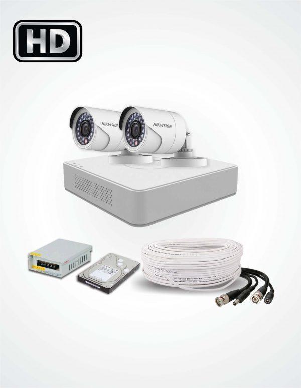 TURBO HD 2MP -1080P CCTV 2 CAMERA PACKAGE
