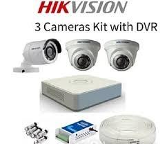 TURBO HD 2MP -1080P CCTV 3 CAMERA PACKAGE