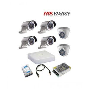 TURBO HD 2MP -1080P CCTV 6 CAMERA PACKAGE