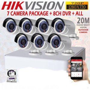 TURBO HD 2MP -1080P CCTV 7 CAMERA PACKAGE