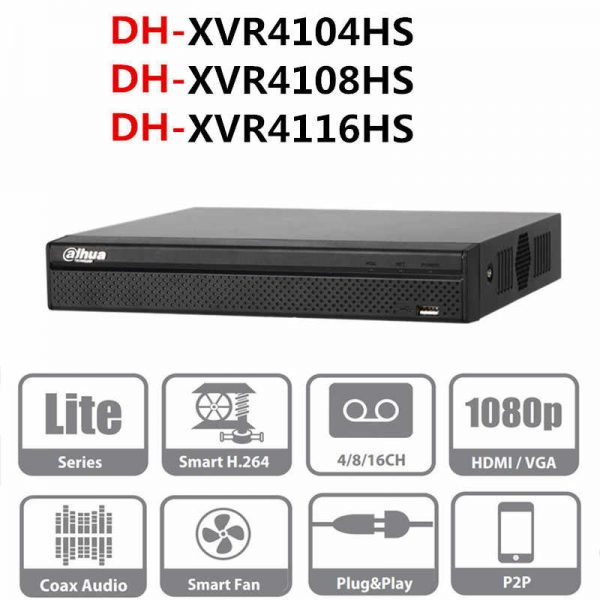 Digital Video Recorder DH-XVR4108HS-X1
