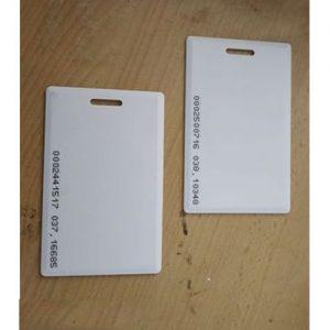 BIOMETRIC RFID CARD