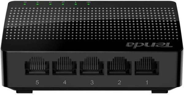 TENDA 5 PORT GIGABIT SG105 CCTV System