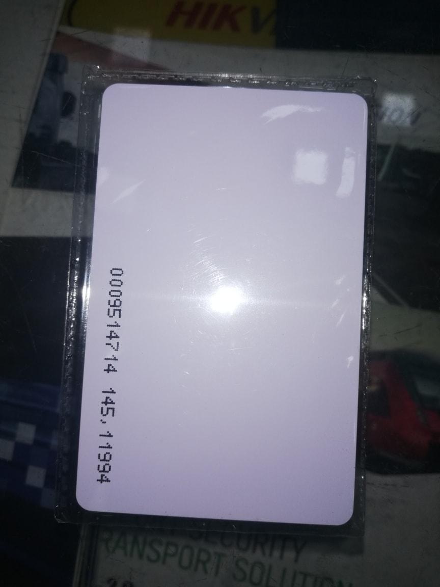 RFID Card simple and  IDteck