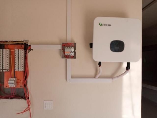 Solar energy inverter grow watt