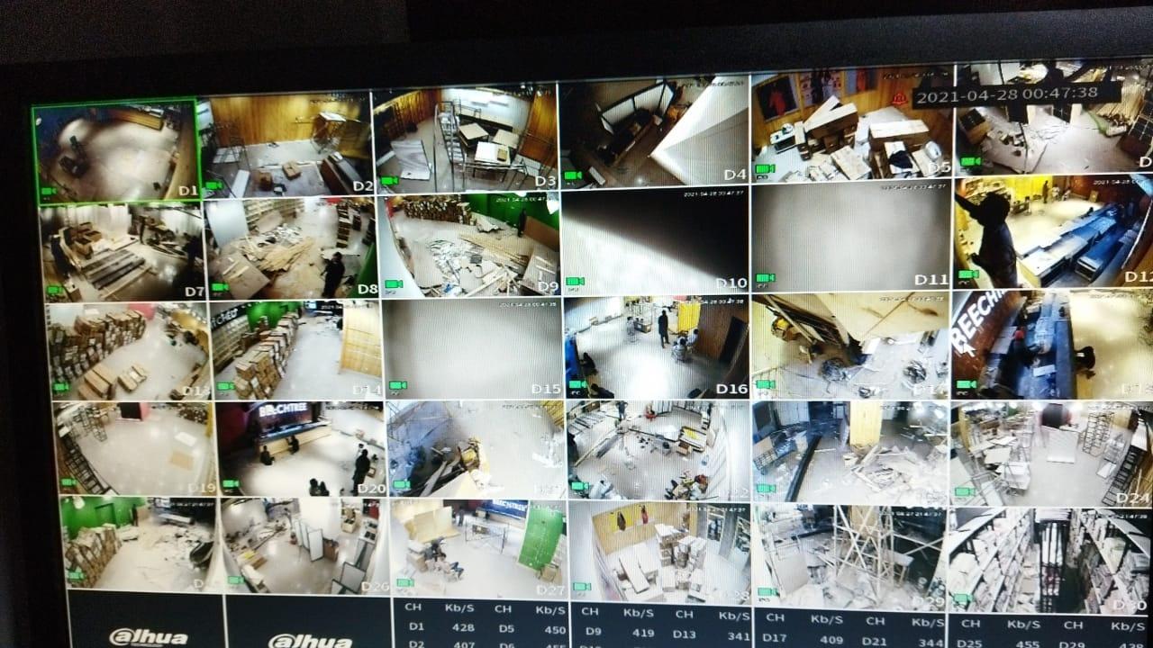 5mp Ip camera result