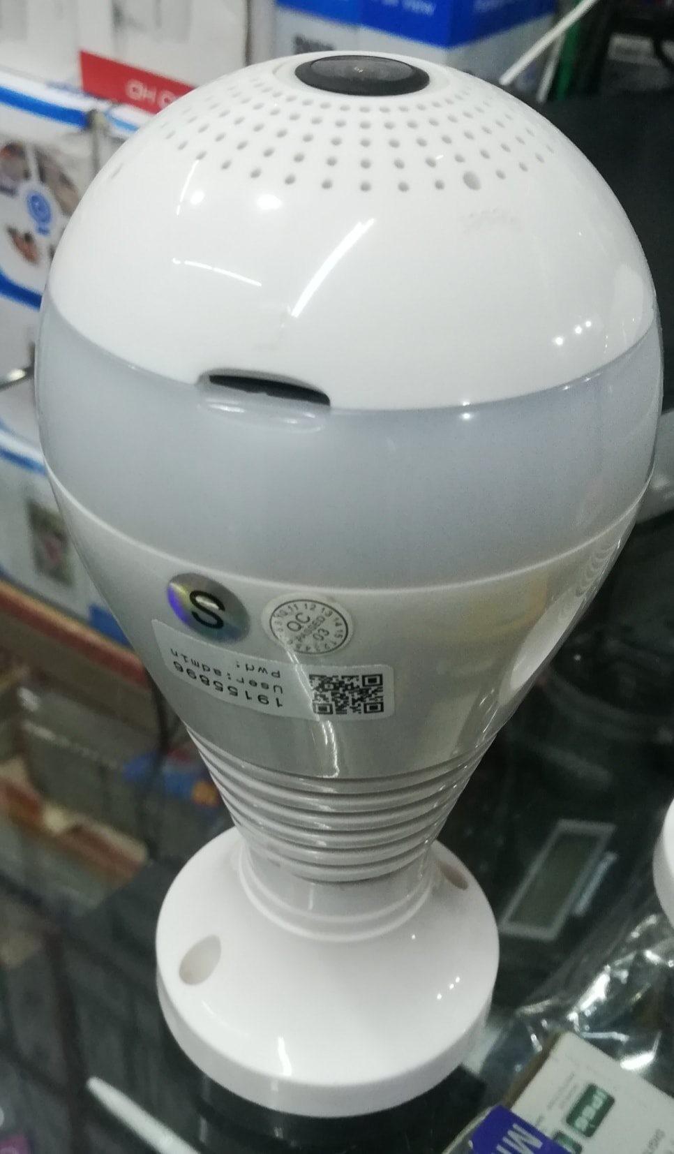 bulb wireless camera