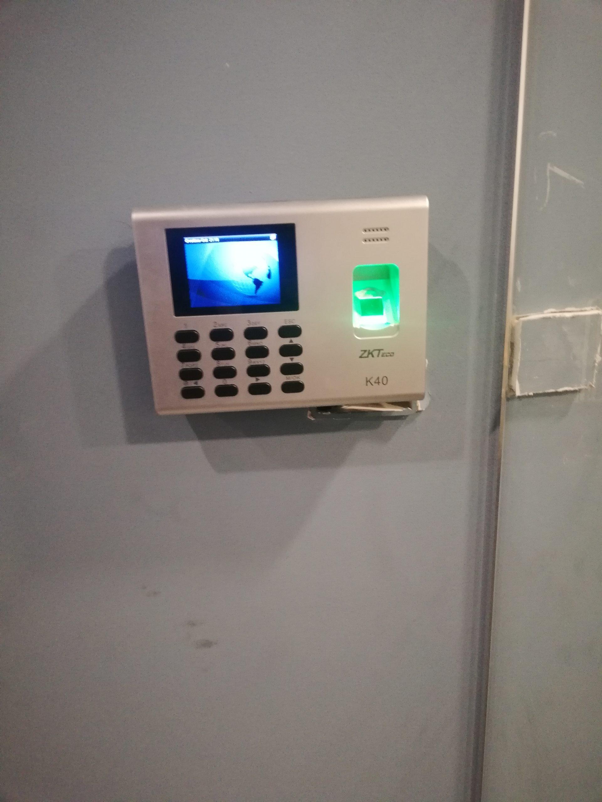 biometric machine k40